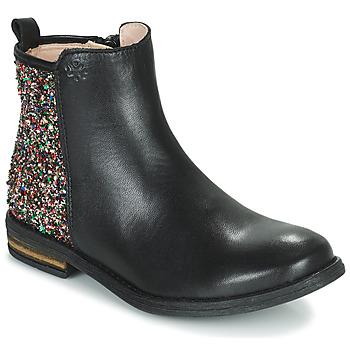 Cipők Lány Csizmák Acebo's 9917VE-NEGRO-T Fekete