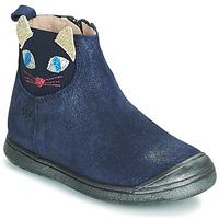 Cipők Lány Csizmák Acebo's 3159SU-MARINO Tengerész