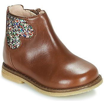 Cipők Lány Csizmák Acebo's 3202-CUERO-C Barna