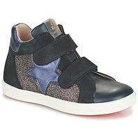 Cipők Lány Magas szárú edzőcipők Acebo's 5541SX-MARINO Tengerész
