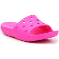 Cipők Gyerek strandpapucsok Crocs Classic Slide Rózsaszín