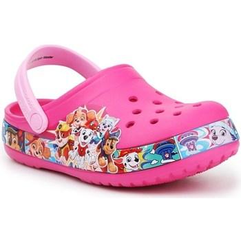 Cipők Gyerek Klumpák Crocs FL Paw Patrol Band Clog JR Rózsaszín