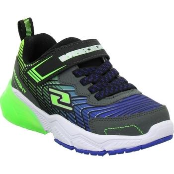 Cipők Gyerek Rövid szárú edzőcipők Skechers Magnoid Kék