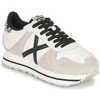Cipők Női Rövid szárú edzőcipők Munich MASSANA SKY Bézs / Fehér / Fekete