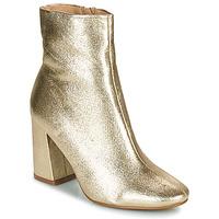 Cipők Női Bokacsizmák Moony Mood PEDROLYN Arany