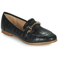 Cipők Női Mokkaszínek Moony Mood PRIVA Fekete