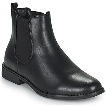 Cipők Női Csizmák Moony Mood PIRYL Fekete
