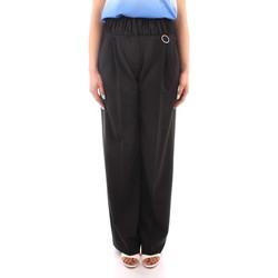 Ruhák Női Lenge nadrágok Marella PANTS BLACK