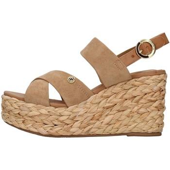 Cipők Női Szandálok / Saruk Wrangler WL11640A BEIGE