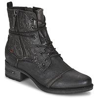 Cipők Női Csizmák Mustang 1229508 Fekete
