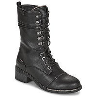 Cipők Női Városi csizmák Mustang 1402501 Fekete