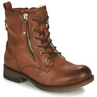 Cipők Lány Csizmák Mustang 5026-623-308 Barna
