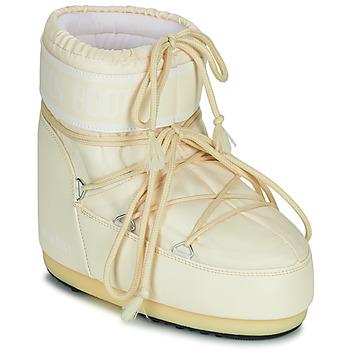 Cipők Női Hótaposók Moon Boot MOON BOOT ICON LOW 2 Krém