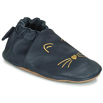 Cipők Lány Baba mamuszok Robeez GOLDY CAT Tengerész