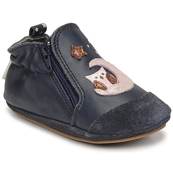 Cipők Lány Baba mamuszok Robeez NICE OWL Tengerész