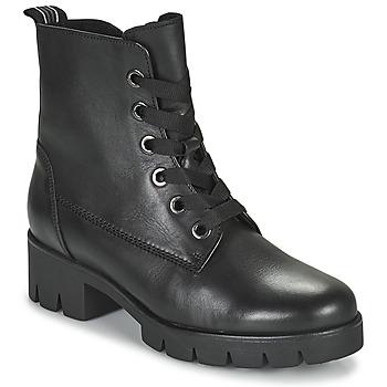 Cipők Női Bokacsizmák Gabor 7171127 Fekete