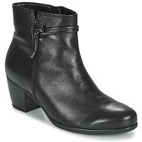 Cipők Női Bokacsizmák Gabor 7552227 Fekete