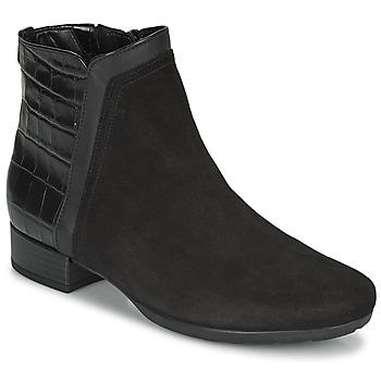 Cipők Női Bokacsizmák Gabor 7271227 Fekete