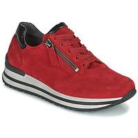 Cipők Női Rövid szárú edzőcipők Gabor 7652868 Piros