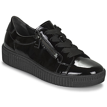 Cipők Női Rövid szárú edzőcipők Gabor 7333497 Fekete