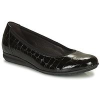 Cipők Női Balerina cipők  Gabor 7262087 Fekete