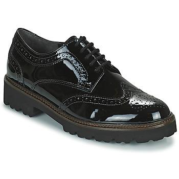 Cipők Női Oxford cipők Gabor 524497 Fekete