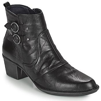 Cipők Női Bokacsizmák Dorking DALMA Fekete