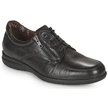 Cipők Férfi Rövid szárú edzőcipők Fluchos LUCA Fekete