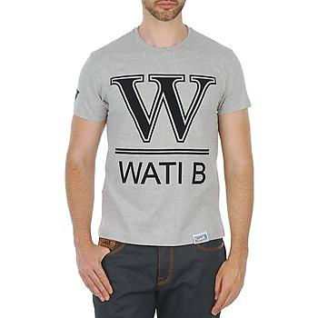 Ruhák Férfi Rövid ujjú pólók Wati B TEE Szürke