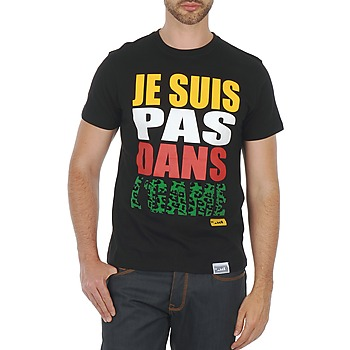 Ruhák Férfi Rövid ujjú pólók Wati B TEE Fekete