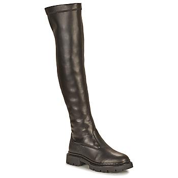 Cipők Női Combcsizmák Ikks BT80105 Fekete