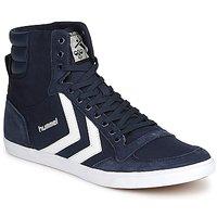 Cipők Magas szárú edzőcipők Hummel TEN STAR HIGH CANVAS Tengerész
