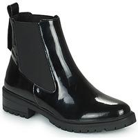 Cipők Női Csizmák Karston AMIDO Fekete