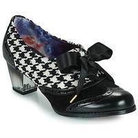Cipők Női Félcipők Irregular Choice CORPORATE BEAUTY Fekete  / Fehér
