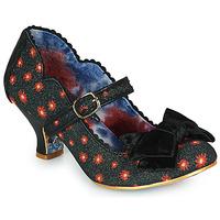Cipők Női Félcipők Irregular Choice SUMMER BREEZE Fekete  / Piros