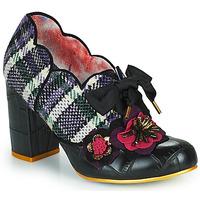 Cipők Női Félcipők Irregular Choice KIND WORDS Fekete
