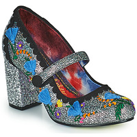 Cipők Női Félcipők Irregular Choice THISTLE DARLING Ezüst
