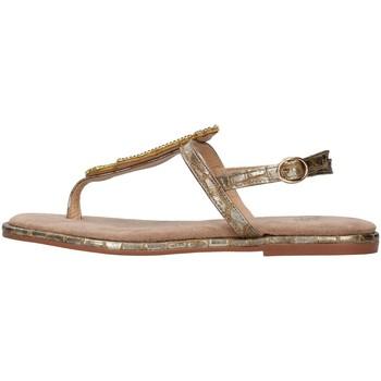 Cipők Női Lábujjközös papucsok Alma Blue V21BL9017 BRONZE