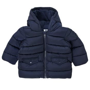 Ruhák Fiú Steppelt kabátok Petit Bateau COLINE Kék