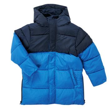 Ruhák Fiú Parka kabátok Petit Bateau KAYS Kék