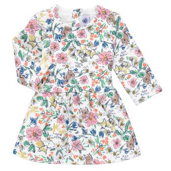 Ruhák Lány Rövid ruhák Petit Bateau ROPPAL Sokszínű