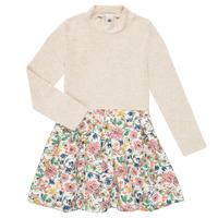 Ruhák Lány Rövid ruhák Petit Bateau WESSRI Sokszínű