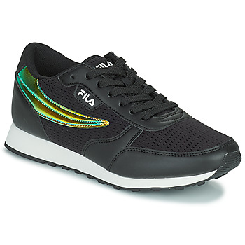 Cipők Női Rövid szárú edzőcipők Fila ORBIT F LOW Fekete