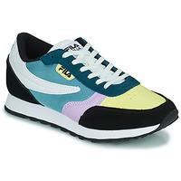 Cipők Női Rövid szárú edzőcipők Fila ORBIT CB LOW Kék / Fekete