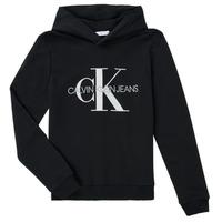 Ruhák Gyerek Pulóverek Calvin Klein Jeans TRINIDA Fekete