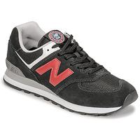 Cipők Férfi Rövid szárú edzőcipők New Balance 574 Fekete  / Piros