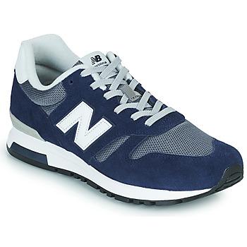 Cipők Férfi Rövid szárú edzőcipők New Balance 565 Kék / Szürke