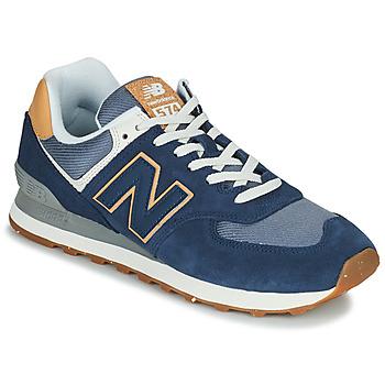 Cipők Férfi Rövid szárú edzőcipők New Balance 574 Kék