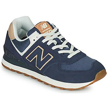 Cipők Női Rövid szárú edzőcipők New Balance 574 Kék