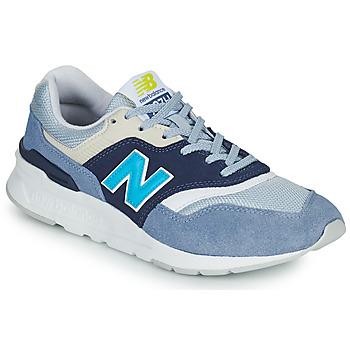 Cipők Női Rövid szárú edzőcipők New Balance 997 Fehér / Kék